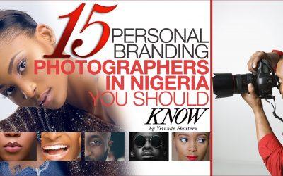 Personal Branding Photographers In Nigeria